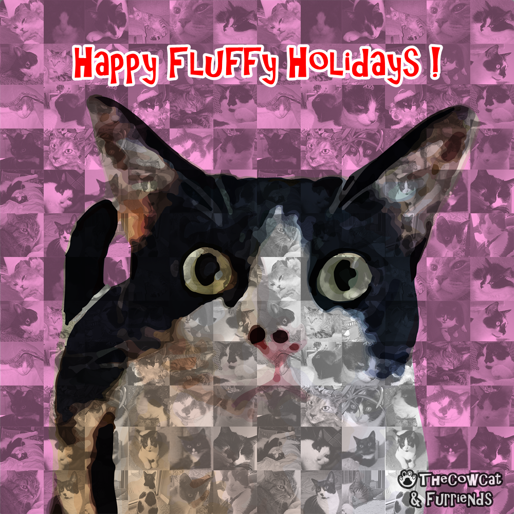 The Cow Cat and Furriends | Happy Fluffy Holidays